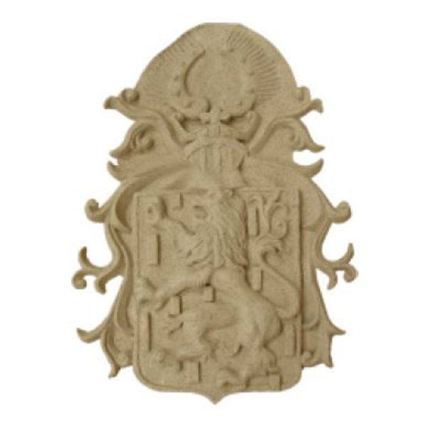 Lion Plaque Ornament2
