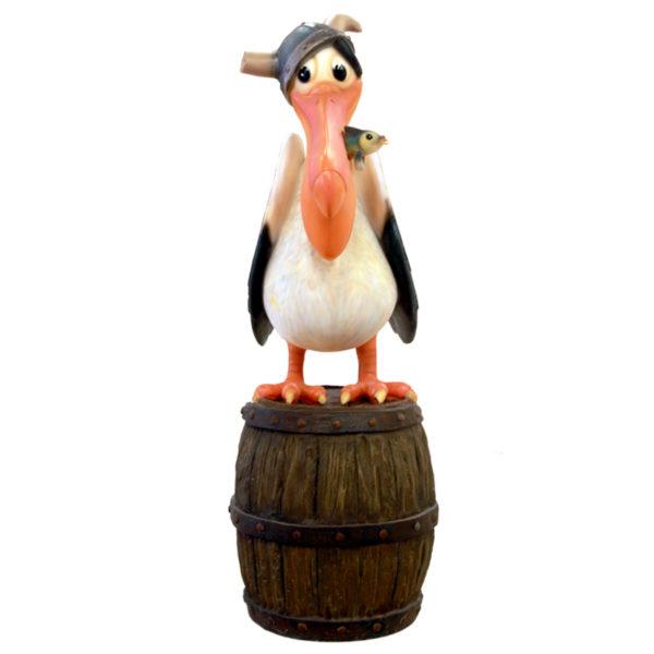 Viking Pelican on barrel
