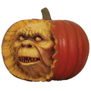 Whole Pumpkin with Face - Small
