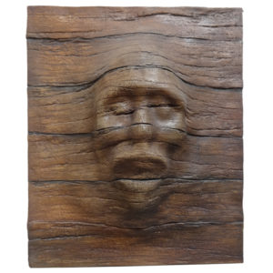 Wood Panel with Face