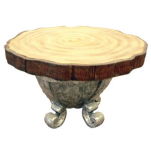 Wooden Table with base2