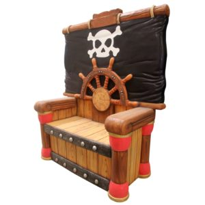 pirate throne