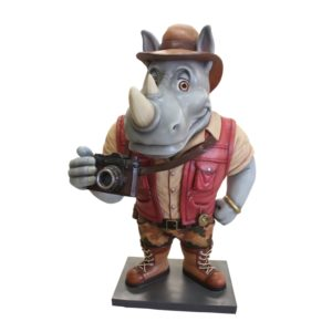 rhino cartoon explorer