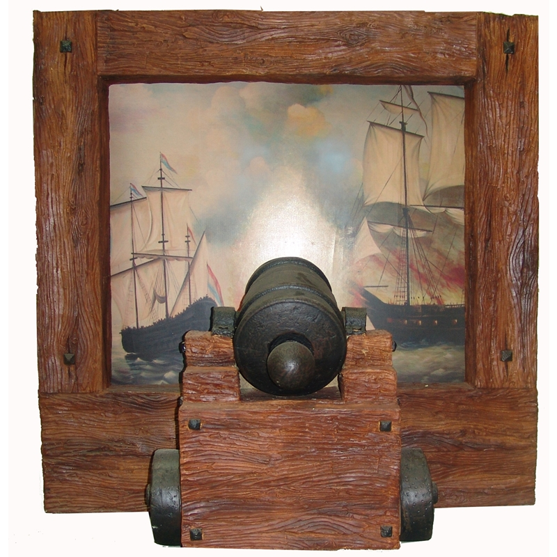 PIRATE CANNON FRAME - Theme Builders